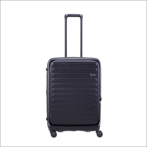 Lojel Cubo Medium 65Cm Expandable Spinner / Black Hard Shell Case
