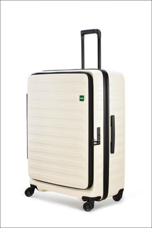 Lojel Cubo Medium 65Cm Expandable Spinner / White Hard Shell Case