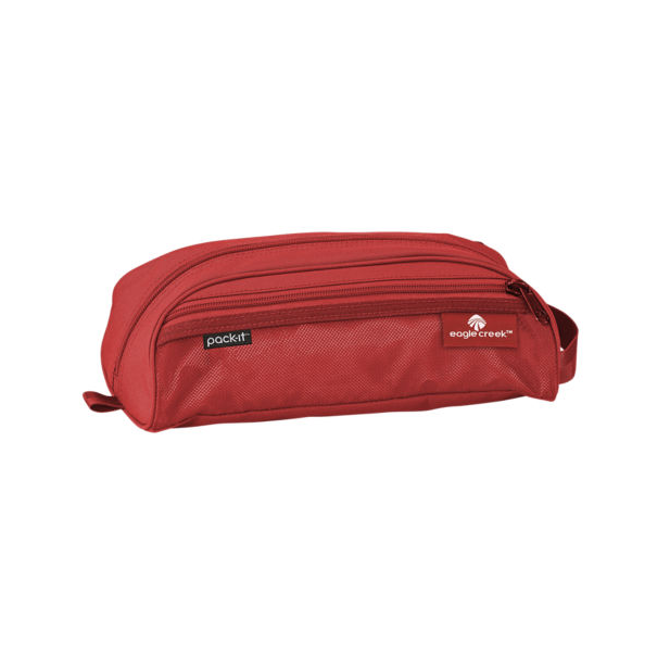 Eagle Creek Specter Quick Trip Toiletry Kit Red Toiletry Kit