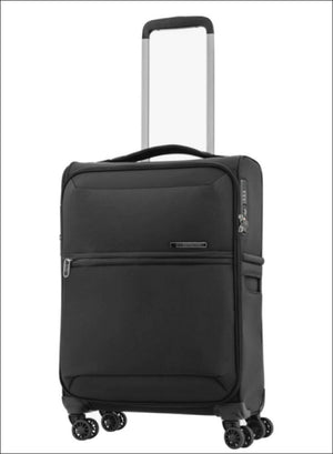 Samsonite 72H Dlx 55Cm Spinner / Platinum Grey Carryon Luggage