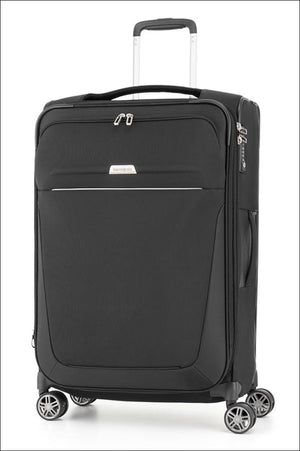 Samsonite B-Lite 4 Spinner Suitcase 78Cm Black Large Soft Luggage