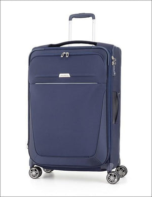 Samsonite B-Lite 4 Spinner Suitcase 78Cm Navy Large Soft Luggage