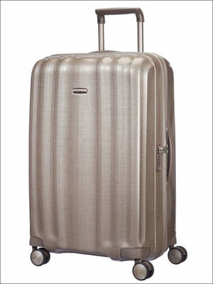 Samsonite Lite Cube 82Cm / Ivory Gold Large Hard Shell Case
