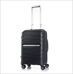 Samsonite New Octolite 2.0 55Cm Small Expandable 4 Wheel Hard Suitcase Black Cabin Friendly