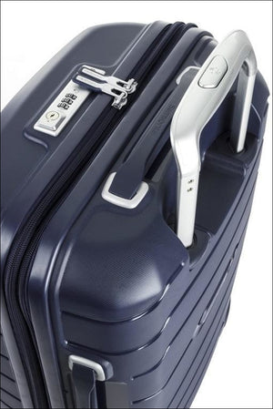 Samsonite New Octolite 2.0 68Cm Expandable 4 Wheel Hard Suitcase Navy Small/medium Shell Case