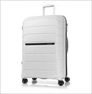 Samsonite New Octolite 2.0 81Cm Expandable 4 Wheel Hard Suitcase White Large Shell Case