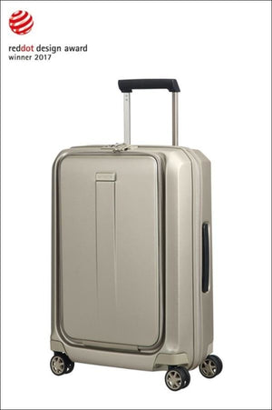 Samsonite Prodigy 55Cm Cabin Business Spinner / Ivory Gold Carryon Luggage