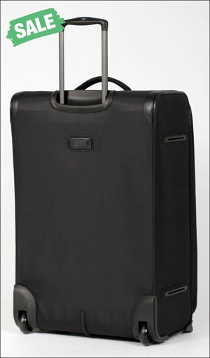 Tosca - So Lite 3.0 29In Large 2 Wheel Soft Suitcase Black Wheeled Case