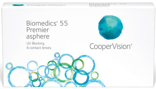 Biomedics 55 Premier (6 pack)