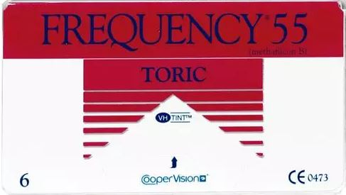 Frequency 55 Toric XR (6 pack)