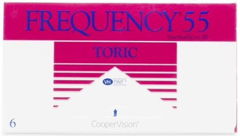 Frequency 55 Toric (6 pack)