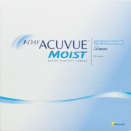 1-Day Acuvue Moist for Astigmatism (90 pack)