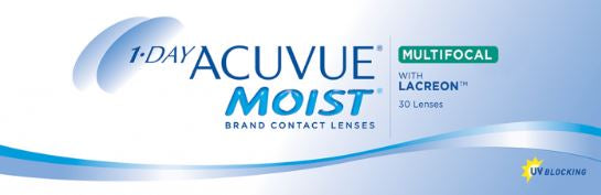 1-Day Acuvue Moist Multifocal (30 pack)