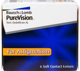 PureVision for Astigmatism (6 pack)