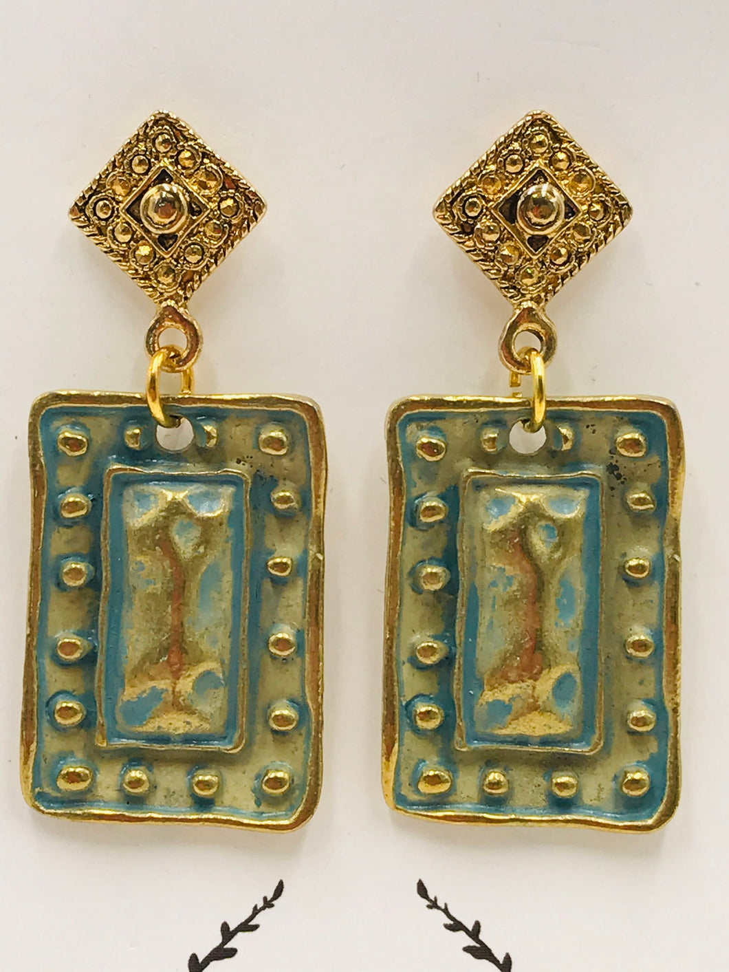 Artisan Gold with Verdigris