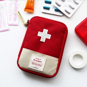 Camping Hiking Travel Home Outdoor Survival Kits Emergenct Pouch Case First Aid Kits Bag