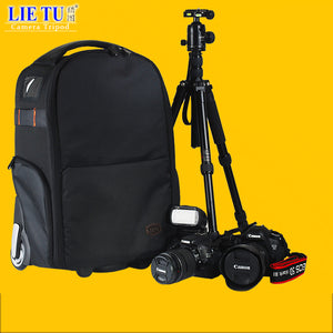 lietu Camera Bag Trolley Camera Backpack Camera Bag Leisure Backpack Camera Digital SLR  T-80