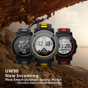 UWear Smart Watch Outdoor Sports running IP68 Waterproof The treadmill Watch