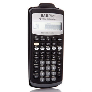 2018 Hot Sale Ti BA II Plus 12 Digits Plastic Led Calculatrice Calculadora  Financial Calculations Students Financial Calculator