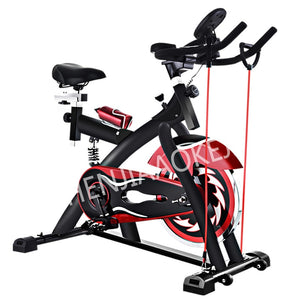1PC Indoor exercise pedal exercise bike Sports gym equipment Musical household spinning bike load 300kg