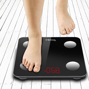 Bluetooth Body Fat Scale Digital Bathroom Smart Wireless Weight Scales with Smartphone APP