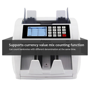 Multifunction Currency Cash Bill Money Counter Counting Machine With Mix Counting Function Financial Equipment Wholesale