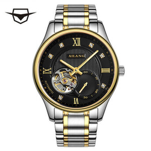 AILANG top luxury men's wrist role watch winder, automatic mechanical movement gear S3 sport reloj vintage diesel swatch 10 bar