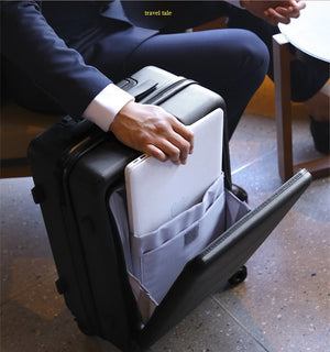 "Travel tale business men work, travel, business travel essential 20/24 "" Rolling Luggage Spinner brand Travel Suitcase"