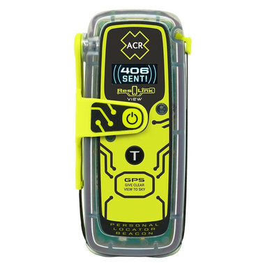 ACR ResQLink View 425 Personal Locator Beacon w-Digital Display - Paddlesports Personal Locator Beacons Acr Electronics 791659029220