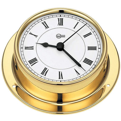 BARIGO Tempo Series Quartz Ships Clock - Brass Housing - 3.3 Dial [683MS] - Clocks & Barometers Brand_BARIGO clocks-barometers Marine