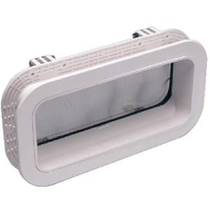 Beckson 5 x 12 x 2 Self Drain Opening Port [PO512-WC-20] - Hatches Brand_Beckson Marine hatches Marine Hardware | Hatches marine-hardware