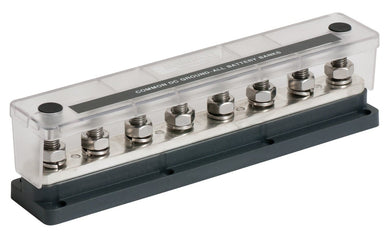 Bep Heavy Duty Buss Bar 8 3-8 Studs 650 Amp - Electrical Installation Accesories BEP 843687006718