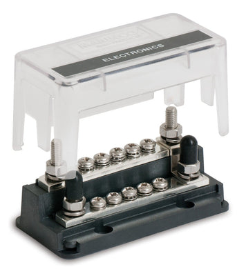 Bep Z Bar 10 Way Buss Bar 4 1-4 Studs 10 5-32 Terminals 200a 50v Dc - Electrical Installation Accesories BEP 843687006732