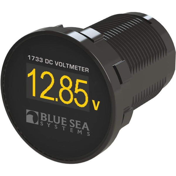 Blue Sea 1733 Mini OLED DC Voltmeter [1733] - Meters Brand_Blue Sea Systems electrical Electrical | Meters meters Blue Sea Systems