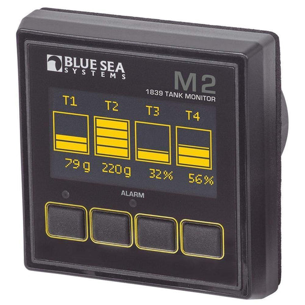 Blue Sea 1839 M2 OLED Tank Monitor [1839] - Meters Brand_Blue Sea Systems electrical Electrical | Meters meters Blue Sea Systems