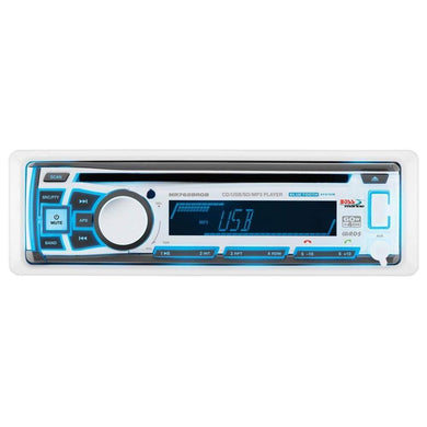 Boss Audio MR762BRGB Single DIN Bluetooth Enabled In-Dash MP3-CD-CDRW-AM-FM Receiver [MR762BRGB] - Stereos Brand_Boss Audio entertainment