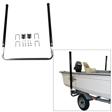 C.E. Smith 60 PVC Post Guide-On w-Unlighted Posts - Black [27646] - Trailer Accessories Boat Outfitting | Trailer Accessories Brand_C.E.