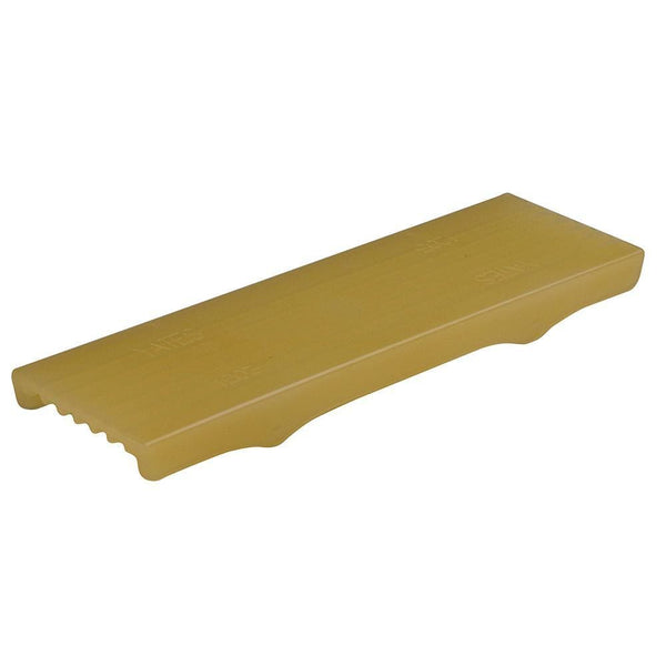 C.E.Smith Flex Keel Pad - Full Cap Style - 12 x 3 - Gold [16871] - Trailer Accessories Boat Outfitting | Trailer Accessories Brand_C.E.
