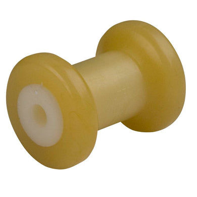 C.E. Smith Spool Roller 4 - 1-2 ID - Gold TPR w-Bushing White Solid [29710] - Trailer Accessories Boat Outfitting | Trailer Accessories