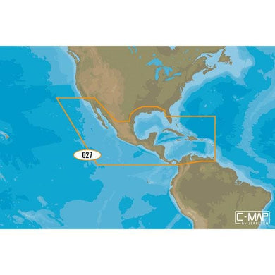 C-map Na-y027 Max N+ Microsd Central America And Caribbean - Cartography Cartography - C-MAP Max C-Map