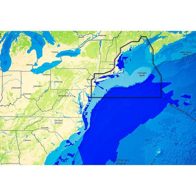 C-map Reveal Ultra High Resolution Bathymetric Chart Us Atlantic Ny - Ma - Cartography Cartography - C-MAP Precision C-Map 9420064111343
