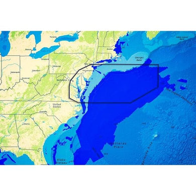 C-map Reveal Ultra High Resolution Bathymetric Chart Us Atlantic Ri - Va - Cartography Cartography - C-MAP Precision C-Map 9420064111350