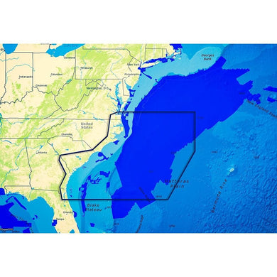 C-map Reveal Ultra High Resolution Bathymetric Chart Us Atlantic Va - Jacksonville - Cartography Cartography - C-MAP Precision C-Map