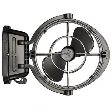 Caframo Sirocco II 3-Speed 7 Gimbal Fan - Black - 12-24V [7010CABBX] - Accessories accessories Automotive/RV | Accessories Boat Outfitting |