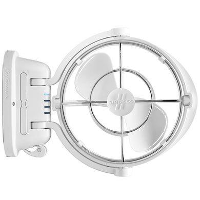 Caframo Sirocco II 3-Speed 7 Gimbal Fan - White - 12-24V [7010CAWBX] - Accessories accessories Automotive/RV | Accessories Boat Outfitting |