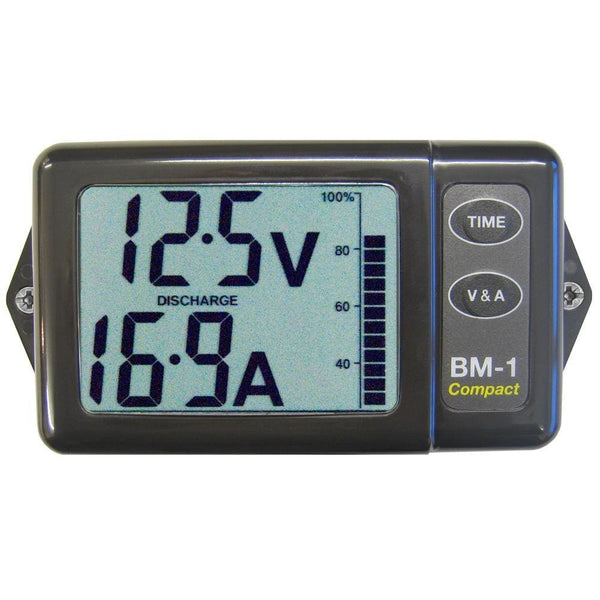 Clipper BM-1CG Battery Monitor Compact Grey [BM-1CG] - Meters Brand_Clipper electrical Electrical | Battery Management Electrical | Meters