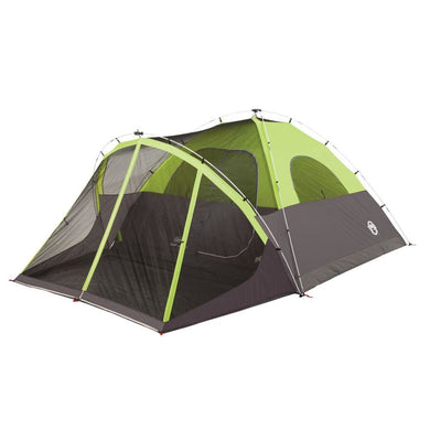 Coleman Steel Creek Fast Pitch Screened Dome Tent - 6 Person [2000018059] - Tents Brand_Coleman camping Camping | Tents outdoor Outdoor |