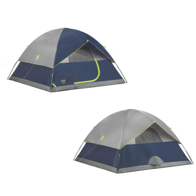 Coleman Sundome 6P Dome Tent - Camping Tents Coleman 076501150421