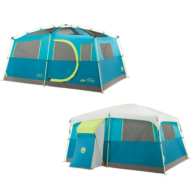 Coleman Tenaya Lake Fast Pitch Cabin w-Closet - 8 Person [2000018088] - Tents Brand_Coleman camping Camping | Tents outdoor Outdoor | Tents