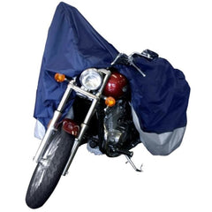 Dallas Manufacturing Co. Motorcycle Cover - Large - Model A Fits Models Up To 1100cc With or Without Accessories [MC1000A]